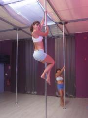 Au studio Pole dance stars