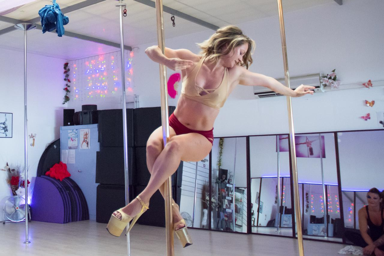 Pole dance stars 2017 Nelly