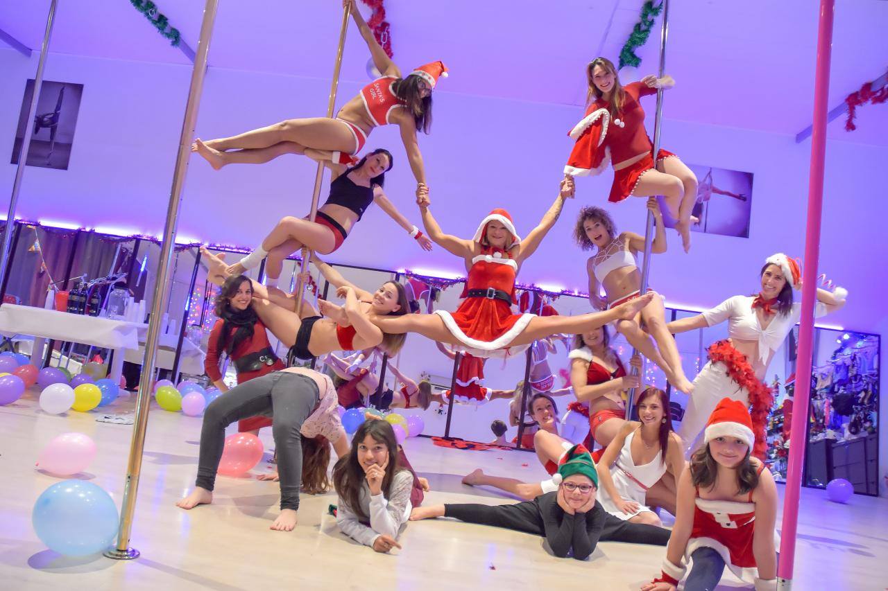 Pole Dance Stars Christmas 2017