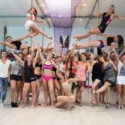 Pole dance stars groupe